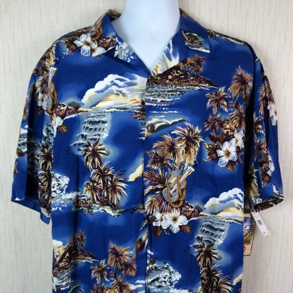eead7fa6 Hilo Hattie Shirts | Original Hawaiian Shirt Mens Xl Nwt | Poshmark